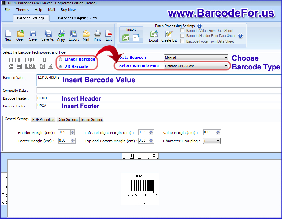 It is a graphic of Clean How to Make My Own Barcode Labels